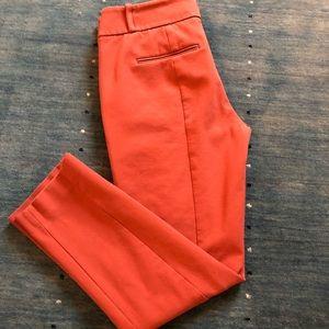 LOFT Marissa Skinny pant Burnt Orange